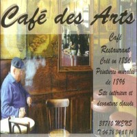 Café des Arts, bar et restaurant à Mens