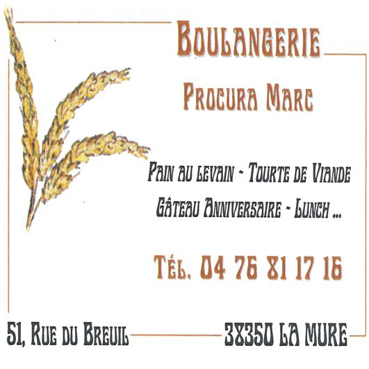 Boulangerie Procura Marc