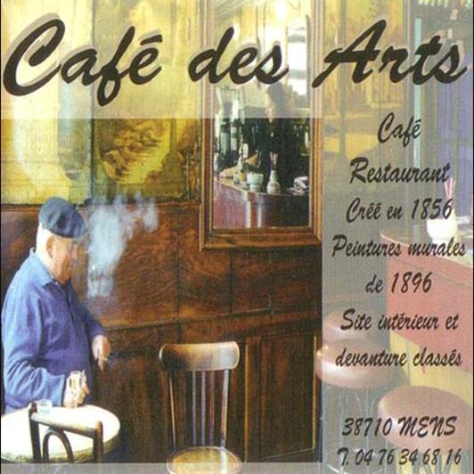 Café des Arts, bar et restaurant à Mens