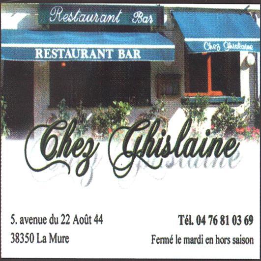 Restaurant Chez Ghislaine La Mure