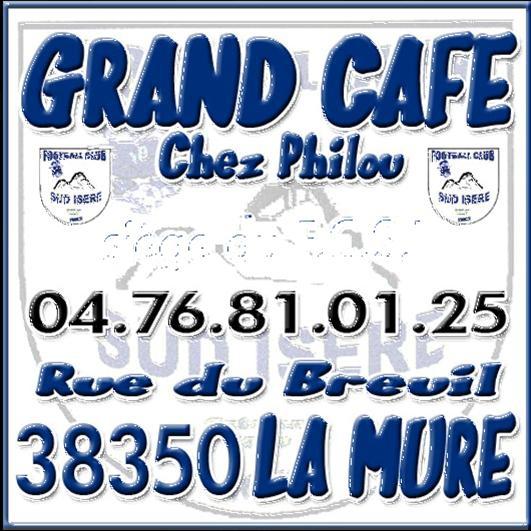 Bar Grand Café chez Philou à La Mure