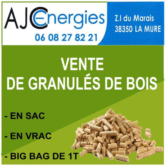 AJC Energies - granulés de bois La Mure