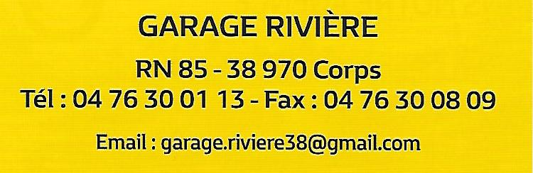 Garage Rivière à Corps