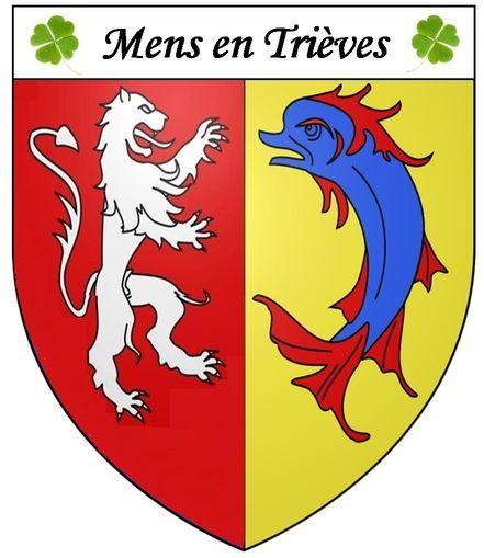 La ville de Mens en Isère (38)