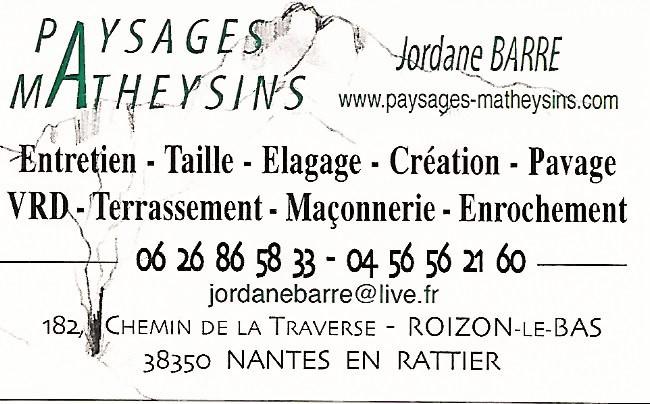 Paysages Matheysins - Jordane Barre