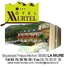 Hôtel restaurant Murtel à la Mure